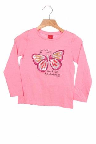 Bluză pentru copii S.Oliver, Mărime 3-4y/ 104-110 cm, Culoare Roz, Bumbac, Preț 88,82 Lei