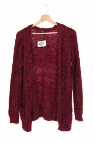 Pulover cu nasturi pentru copii Y.F.K., Mărime 12-13y/ 158-164 cm, Culoare Roșu, 65% poliamidă, 35% poliacrilic, Preț 102,79 Lei