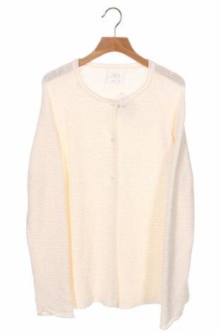 Pulover cu nasturi pentru copii Zara, Mărime 13-14y/ 164-168 cm, Culoare Ecru, Preț 93,75 Lei