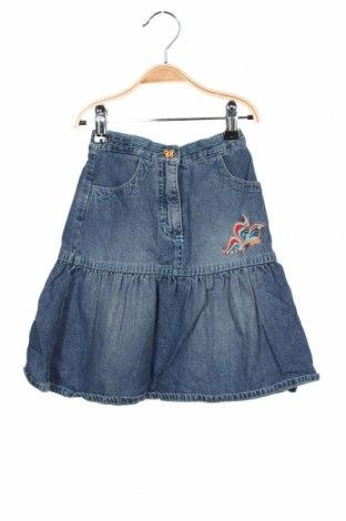 Fustă pentru copii Esprit, Mărime 5-6y/ 116-122 cm, Culoare Albastru, 100% bumbac, Preț 56,75 Lei