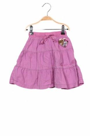 Fustă pentru copii H&M, Mărime 5-6y/ 116-122 cm, Culoare Roz, 100% bumbac, Preț 59,21 Lei