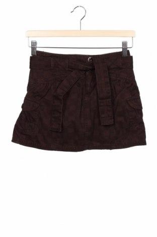 Παιδική φούστα Zara Kids, Μέγεθος 7-8y/ 128-134 εκ., Χρώμα Καφέ, Βαμβάκι, Τιμή 11,60€
