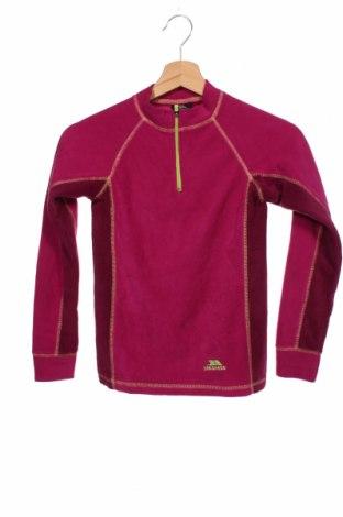Dziecięca bluzka z polaru Trespass, Rozmiar 6-7y/ 122-128 cm, Kolor Różowy, Poliester, Cena 92,00zł