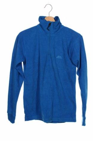 Dziecięca bluzka z polaru Trespass, Rozmiar 13-14y/ 164-168 cm, Kolor Niebieski, Poliester, Cena 92,00zł