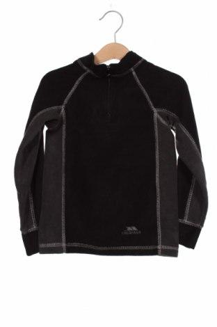 Dziecięca bluzka z polaru Trespass, Rozmiar 18-24m/ 86-98 cm, Kolor Czarny, Poliester, Cena 92,00zł