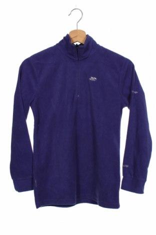 Dziecięca bluzka z polaru Trespass, Rozmiar 10-11y/ 146-152 cm, Kolor Fioletowy, Poliester, Cena 92,00zł