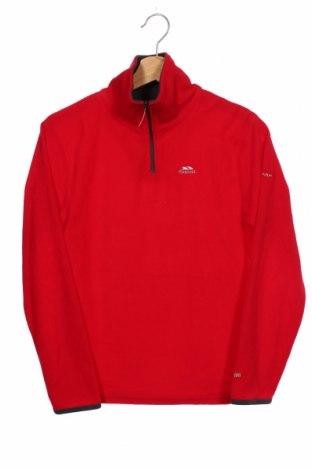 Dziecięca bluzka z polaru Trespass, Rozmiar 10-11y/ 146-152 cm, Kolor Czerwony, Poliester, Cena 92,00zł