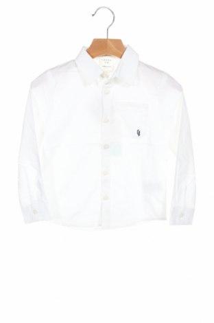 Dziecięca koszula Carrement Beau, Rozmiar 2-3y/ 98-104 cm, Kolor Biały, Bawełna, Cena 78,75zł