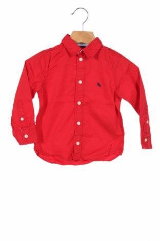 Cămașă pentru copii H&M L.O.G.G., Mărime 18-24m/ 86-98 cm, Culoare Roșu, Bumbac, Preț 46,88 Lei
