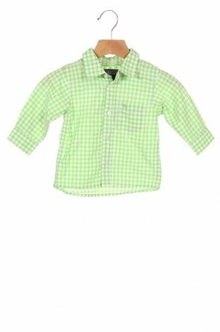 Cămașă pentru copii H&M L.O.G.G., Mărime 6-9m/ 68-74 cm, Culoare Verde, Preț 46,88 Lei