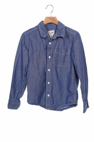 Детска риза Place Est. 1989, Размер 11-12y/ 152-158 см, Цвят Син, Памук, Цена 19,95лв.