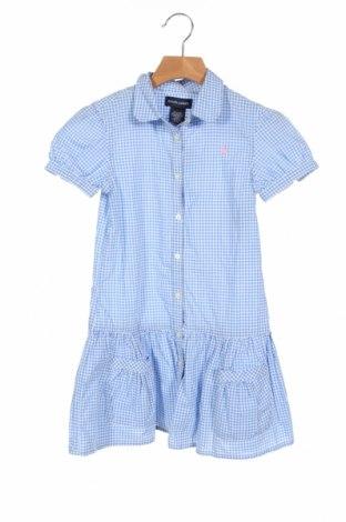 Cămașă pentru copii Ralph Lauren, Mărime 6-7y/ 122-128 cm, Culoare Albastru, Bumbac, Preț 126,00 Lei