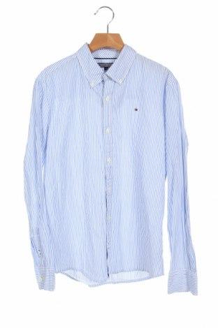 Dziecięca koszula Tommy Hilfiger, Rozmiar 12-13y/ 158-164 cm, Kolor Niebieski, Bawełna, Cena 96,00zł