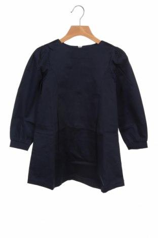 Dziecięca sukienka, Rozmiar 5-6y/ 116-122 cm, Kolor Niebieski, 97% bawełna, 3% elastyna, Cena 71,25zł