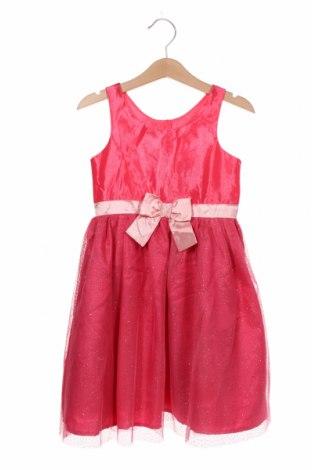 Rochie pentru copii H&M, Mărime 5-6y/ 116-122 cm, Culoare Roz, Poliester, Preț 61,68 Lei