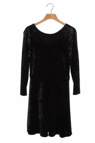 Dziecięca sukienka H&M, Rozmiar 10-11y/ 146-152 cm, Kolor Czarny, 93% poliester, 7% elastyna, Cena 69,00zł