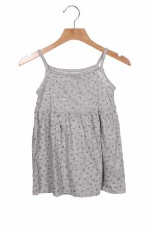 Rochie pentru copii H&M, Mărime 2-3y/ 98-104 cm, Culoare Gri, 95% bumbac, 5% viscoză, Preț 61,68 Lei