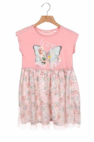 Rochie pentru copii H&M, Mărime 4-5y/ 110-116 cm, Culoare Roz, Bumbac, poliester, Preț 64,15 Lei