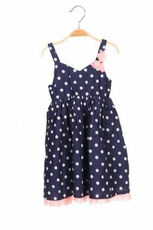 Παιδικό φόρεμα H&M, Μέγεθος 2-3y/ 98-104 εκ., Χρώμα Μπλέ, Βαμβάκι, Τιμή 10,67€