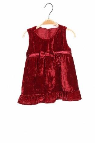Παιδικό φόρεμα H&M, Μέγεθος 3-6m/ 62-68 εκ., Χρώμα Κόκκινο, 77% βισκόζη, 23% πολυαμίδη, Τιμή 10,21€