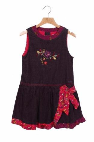 Rochie pentru copii Kenzo, Mărime 7-8y/ 128-134 cm, Culoare Mov, Bumbac, Preț 217,10 Lei