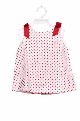 Dziecięca sukienka Lola Palacios, Rozmiar 9-12m/ 74-80 cm, Kolor Biały, 60% bawełna, 40% poliester, Cena 118,00zł