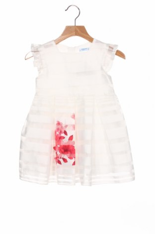Παιδικό φόρεμα Mayoral, Μέγεθος 2-3y/ 98-104 εκ., Χρώμα Λευκό, 100% πολυεστέρας, Τιμή 15,77€