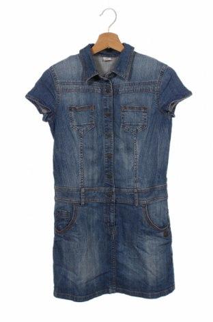 Dziecięca sukienka S.Oliver, Rozmiar 12-13y/ 158-164 cm, Kolor Niebieski, 99% bawełna, 1% elastyna, Cena 60,00zł