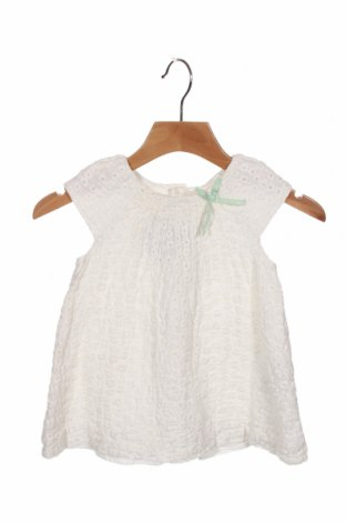 Dziecięca sukienka Zara, Rozmiar 12-18m/ 80-86 cm, Kolor Biały, Len, Cena 72,00zł