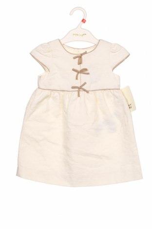 Rochie pentru copii Zara, Mărime 18-24m/ 86-98 cm, Culoare Ecru, 85% bumbac, 15% poliester, Preț 96,22 Lei
