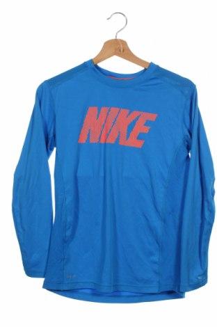 Dětská sportovní halenka  Nike, Velikost 14-15y/ 168-170 cm, Barva Modrá, Polyester, Cena  446,00Kč
