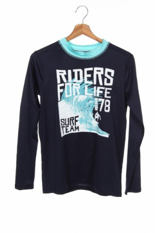 Детска спортна блуза Place Est. 1989, Размер 15-18y/ 170-176 см, Цвят Син, Цена 17,85лв.