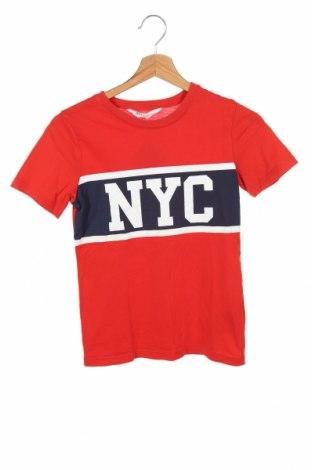 Dziecięcy T-shirt H&M, Rozmiar 8-9y/ 134-140 cm, Kolor Czerwony, Bawełna, Cena 40,80zł