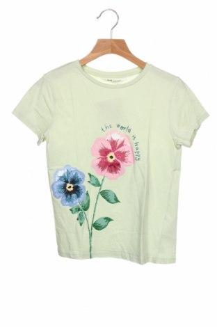 Tricou pentru copii H&M, Mărime 6-7y/ 122-128 cm, Culoare Verde, 100% bumbac, Preț 72,37 Lei