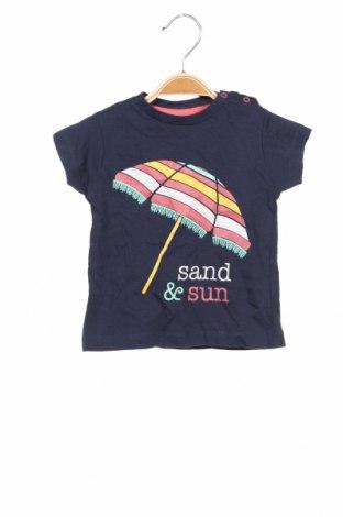 Dětské tričko  Mo, Velikost 9-12m/ 74-80 cm, Barva Modrá, Bavlna, Cena  239,00Kč
