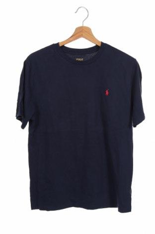 Tricou pentru copii Polo By Ralph Lauren, Mărime 14-15y/ 168-170 cm, Culoare Albastru, Bumbac, Preț 152,96 Lei