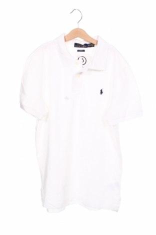 Tricou pentru copii Polo By Ralph Lauren, Mărime 15-18y/ 170-176 cm, Culoare Alb, Bumbac, Preț 213,82 Lei