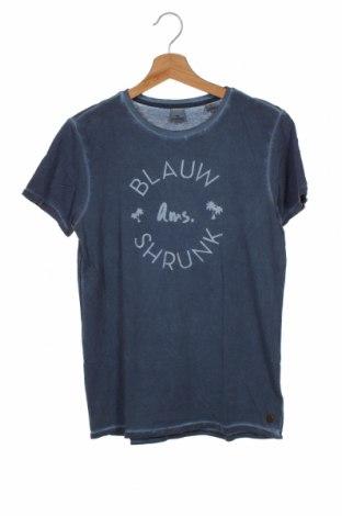 Dziecięcy T-shirt Scotch Shrunk, Rozmiar 13-14y/ 164-168 cm, Kolor Niebieski, Bawełna, Cena 124,80zł