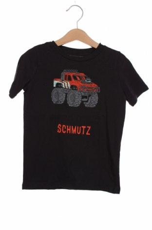 Tricou pentru copii Tom Tailor, Mărime 3-4y/ 104-110 cm, Culoare Albastru, Bumbac, Preț 41,94 Lei