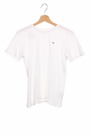 Tricou pentru copii Tommy Hilfiger, Mărime 12-13y/ 158-164 cm, Culoare Alb, Bumbac, Preț 78,95 Lei