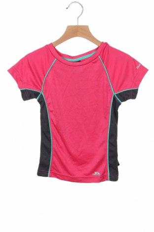 Tricou pentru copii Trespass, Mărime 2-3y/ 98-104 cm, Culoare Roz, Poliester, Preț 88,82 Lei