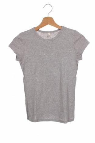 Dziecięcy T-shirt United Colors Of Benetton, Rozmiar 12-13y/ 158-164 cm, Kolor Szary, Cena 52,80zł