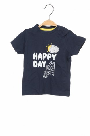 Παιδικό μπλουζάκι ZY kids, Μέγεθος 6-9m/ 68-74 εκ., Χρώμα Μπλέ, Βαμβάκι, Τιμή 6,70€