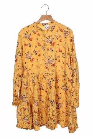 Tunică pentru copii Vrs, Mărime 11-12y/ 152-158 cm, Culoare Galben, 100% viscoză, Preț 82,89 Lei