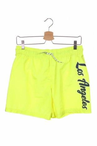 Costum de baie pentru copii H&M, Mărime 12-13y/ 158-164 cm, Culoare Verde, Poliester, Preț 62,44 Lei