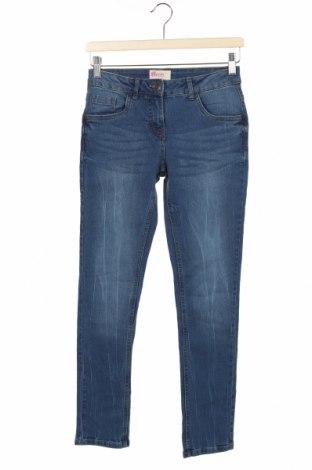 Dziecięce jeansy Alive, Rozmiar 11-12y/ 152-158 cm, Kolor Niebieski, 83% bawełna, 15% poliester, 2% elastyna, Cena 66,00zł