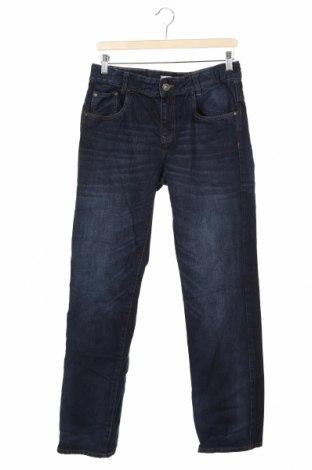 Dziecięce jeansy C&A, Rozmiar 14-15y/ 168-170 cm, Kolor Niebieski, Bawełna, Cena 78,00zł
