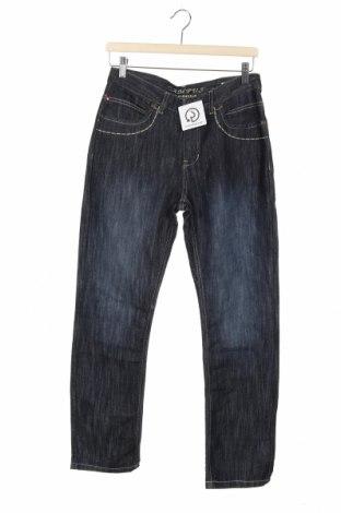Dziecięce jeansy Campus, Rozmiar 13-14y/ 164-168 cm, Kolor Niebieski, 70% bawełna, 30% poliester, Cena 63,00zł