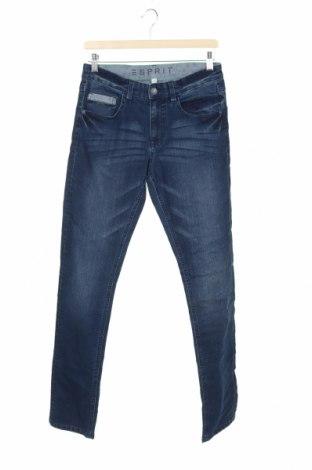 Dziecięce jeansy Esprit, Rozmiar 15-18y/ 170-176 cm, Kolor Niebieski, 79% bawełna, 19% poliester, 2% elastyna, Cena 63,00zł