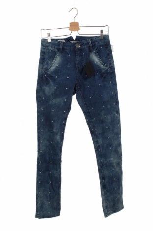 Dziecięce jeansy Gsus Sindustries, Rozmiar 12-13y/ 158-164 cm, Kolor Niebieski, 83% bawełna, 16% poliester, 1% elastyna, Cena 91,88zł